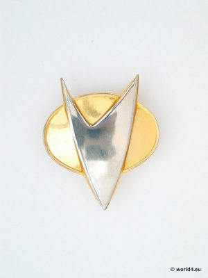 Star Trek pin. Starfleet Division Badge