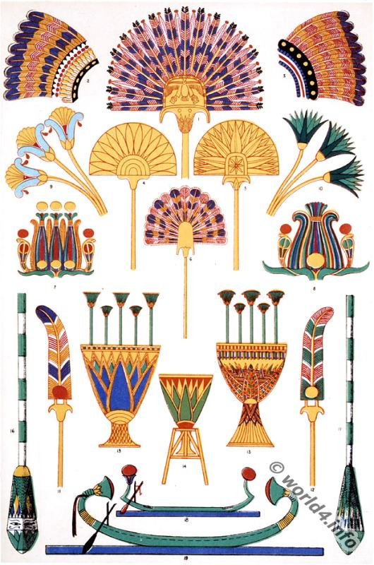 egyptian decorations lost and found