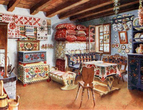 Hungarian Peasant Furniture, 18th c.