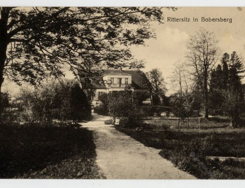 Rittersitz in Bobersberg (Bobrowice).